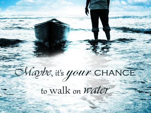 walk-on-water